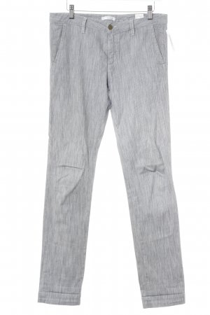 Ba&sh Jersey Pants white-steel blue striped pattern casual look