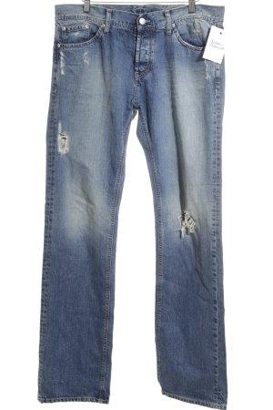 Ba&sh Straight-Leg Jeans blau Casual-Look