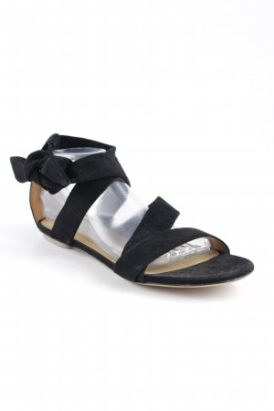Ba&sh Beach Sandals black-beige beach look