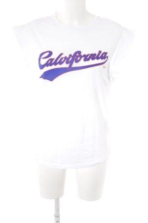 Ba&sh T-Shirt Schriftzug gedruckt Casual-Look