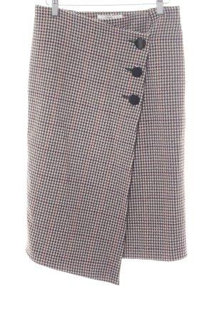 Ba&sh Tweed rok ruitpatroon zakelijke stijl