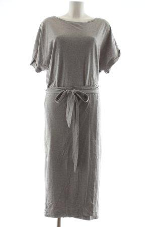 Ba&sh Abito avvolgente grigio chiaro stile casual