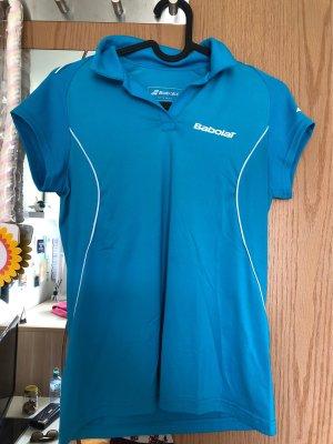 Babolat Sports Shirt white-light blue