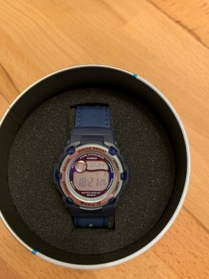 Casio Digital Watch dark blue