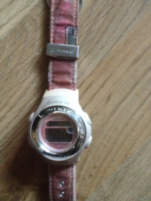 Baby G Casio Uhr rosa