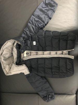 Armani Veste à capuche gris clair-noir