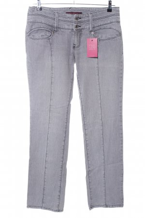 Baby Phat Boot Cut Jeans light grey casual look