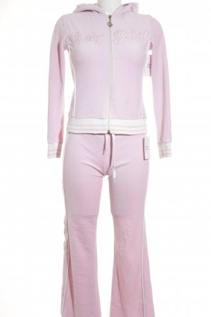 Baby Phat Leisure suit pink-white retro look