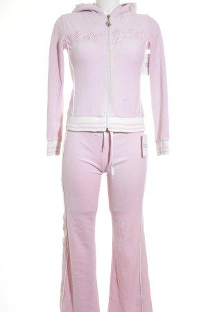 Baby Phat Hausanzug rosa-weiß Retro-Look