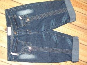 Baby Phat Stretch jeans donkerblauw Katoen