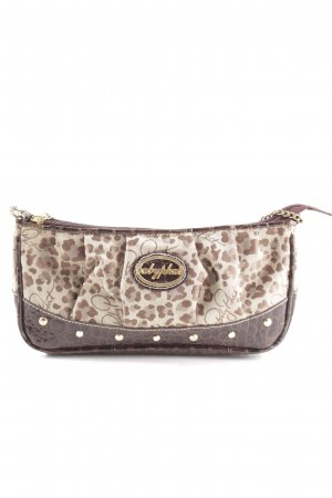 Baby Phat Mini Bag brown-natural white abstract pattern casual look