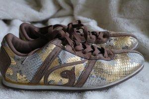 Baby Phat Sneaker stringata multicolore Scamosciato