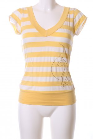 Baby Phat T-Shirt primrose-natural white themed print casual look