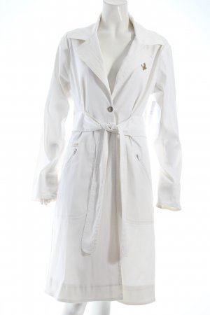 Baby Phat Trench bianco stile classico