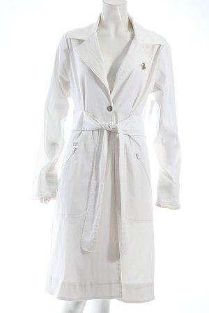 Baby Phat Trenchcoat wit klassieke stijl