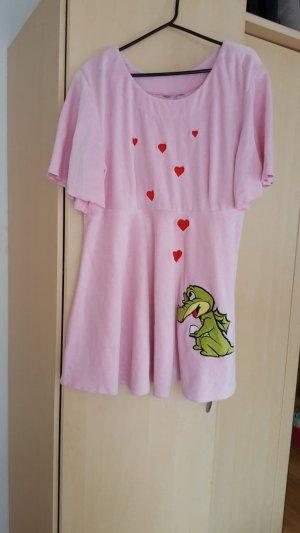 Baby pink Badekleid.Gr.L