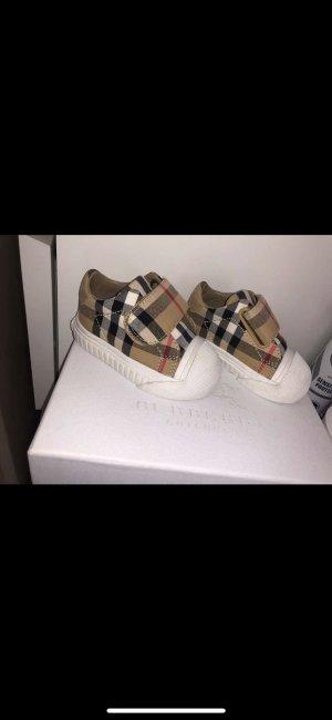 Burberry Sneaker con strappi beige