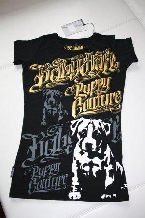 Baby Staff / Babystaff T-Shirt / Gr. M (38) / schwarz-gold-grau / Neu und mit Etikett !