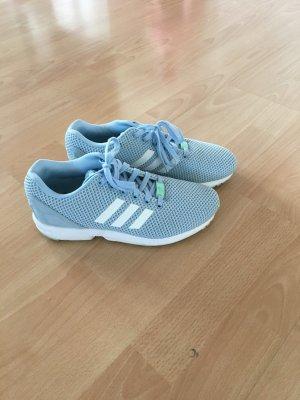 Babyblaue Adidassneaker in Gr. 40 2/3