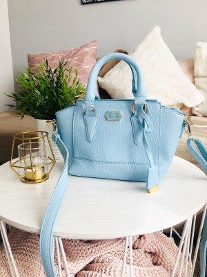 Babyblaue Handtasche aus Italien