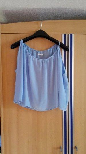 Babyblaue Himmelblaue H&M Bluse Größe 36 S