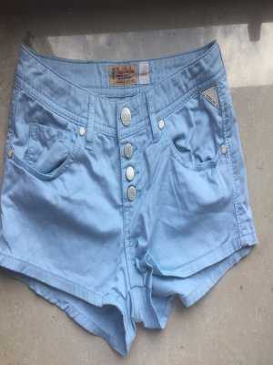 Babyblaue Replay Shorts size 27