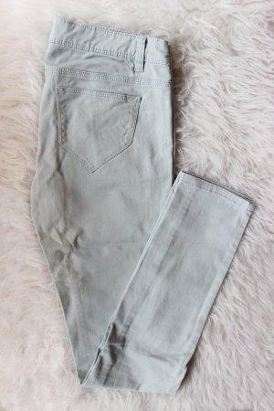 Babyblaue Skinny Jeans Tally Weijl 38 S