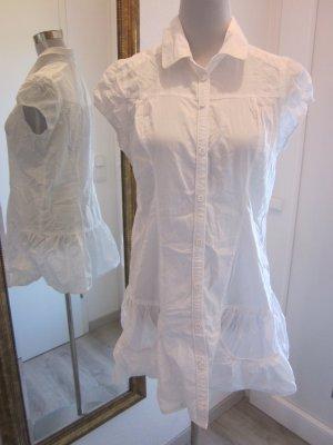 Camicetta lunga bianco Cotone
