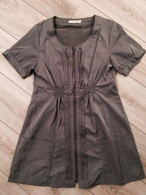 Babydoll Kleid/Bluse mit Reisverschluss Gr L