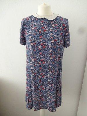 babydoll Kleid bubikragen blümchen