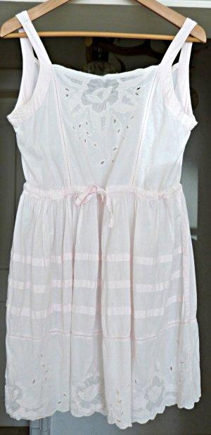 Babydoll-Kleid mit Baumwollspitze
