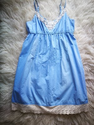 Tom Tailor Denim Abito baby-doll azzurro-azzurro
