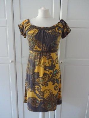 okay Babydoll-jurk veelkleurig Gemengd weefsel