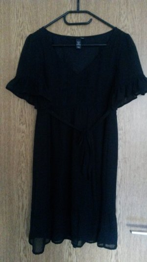 H&M Babydoll-jurk zwart