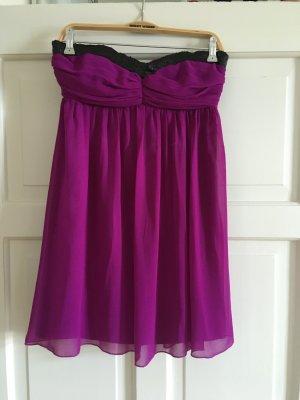 Lipsy Babydoll-jurk violet-zwart