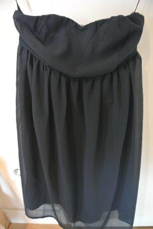 Babydoll-Kleid von Vila in Gr. S dunkelblau