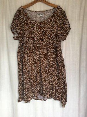 babydoll leopard american apparel baumwolle