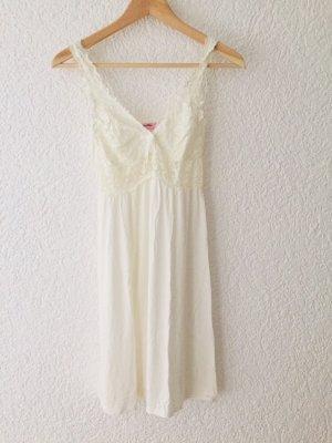 Babydoll Nachthemd Slipdress weiß neu! Größe S