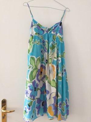 Tommy Hilfiger Babydoll Dress multicolored silk