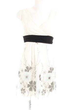 Babydoll-jurk bloemenprint romantische stijl