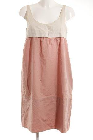 Babydoll-jurk zalm-room casual uitstraling