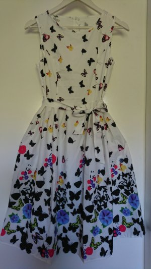 Babydoll-jurk veelkleurig