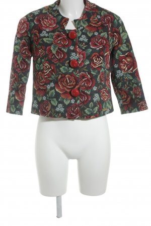 Babylon Short Blazer flower pattern street-fashion look