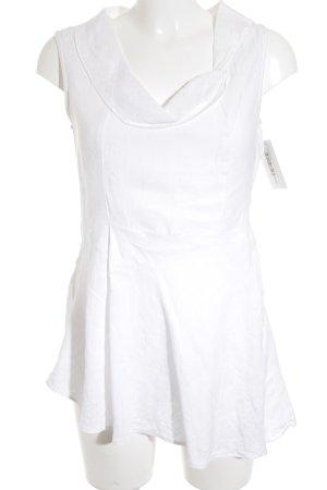 Backstage Mouwloze blouse wit zakelijke stijl