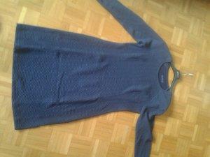 Backstage Vestido azul acero