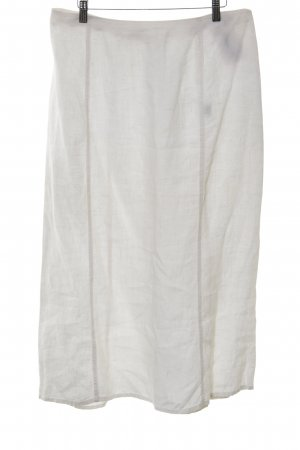 Backstage Midi Skirt white casual look