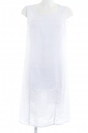 Backstage Off-The-Shoulder Dress white simple style