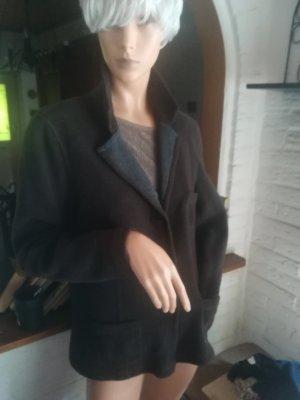 Backstage Veste mi-saison brun noir laine