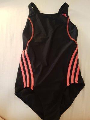 Adidas Originals Costume da bagno nero-rosa