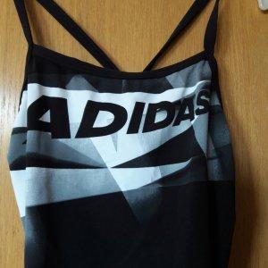 Adidas Traje de baño blanco-negro